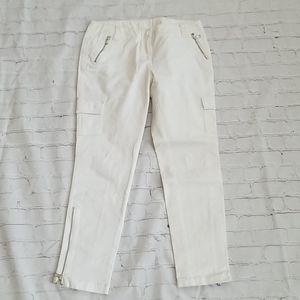 Black Label Cropped Jeans